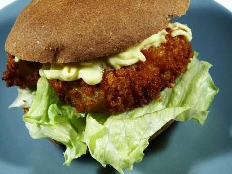 Fiskeburger oppskrift.