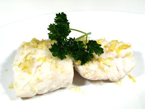 Kokt fisk