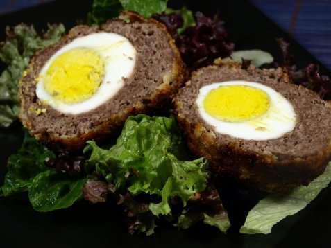 Skotske egg oppskrift.