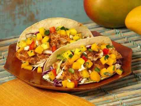 Tacos på Mexicansk oppskrift.
