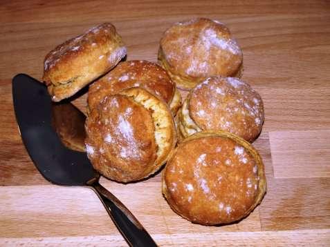 Engelske scones oppskrift.