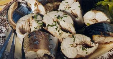Bilde av Syltet makrell fra S�rlandet.