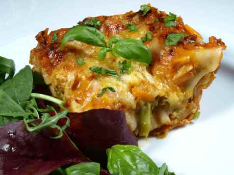 Bilde av Vegetar lasagne.