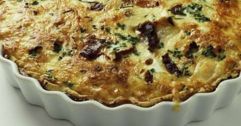 Slankerens pai med grønnsaker oppskrift.