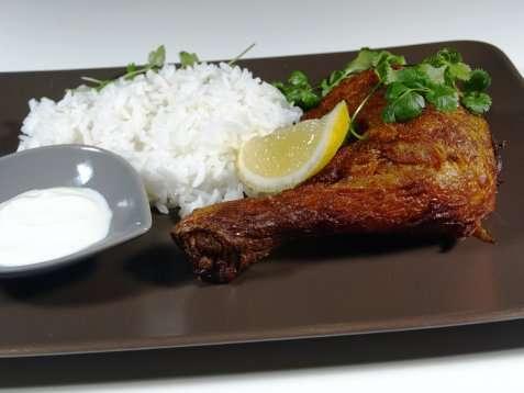 Bilde av Indisk kylling tandoori.
