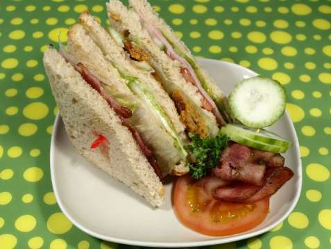 Club sandwich 2 oppskrift.