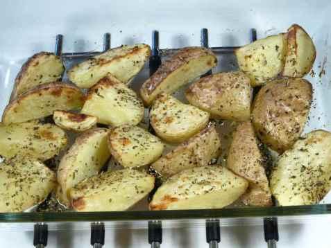 Råstekte poteter 3 oppskrift.
