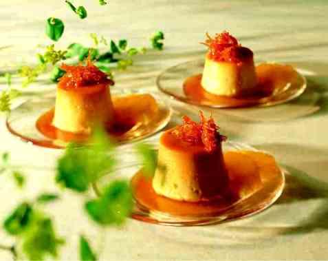 Spansk karamellpudding oppskrift.