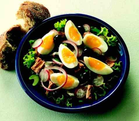 Salade Niçoise 3 oppskrift.