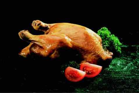 Grillet kylling med Cæsarsalat oppskrift.