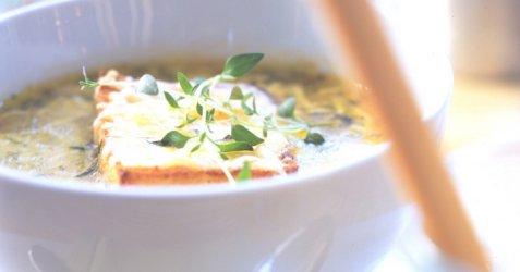 Løksuppe som i Provence oppskrift.