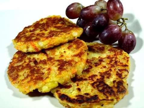 Bilde av Smakelig gr�nnsakkarbonader.