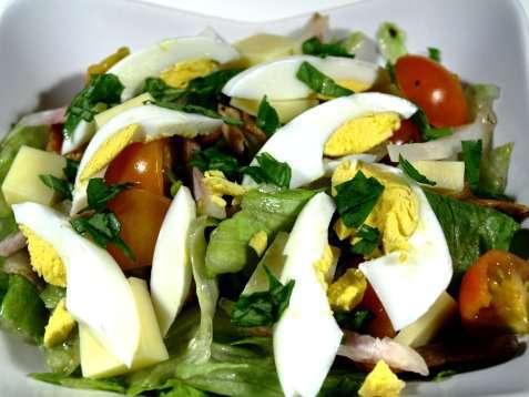 Prøv også Chef salat.
