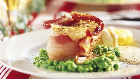 Lutefisk med bacon oppskrift.