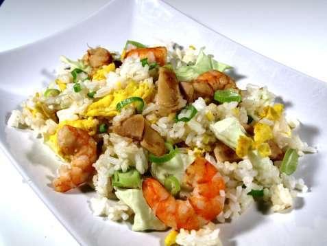 Prøv også Stekt ris med reker og kylling.