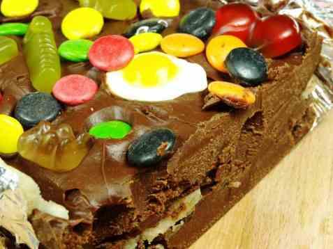 Delfia kake liten Alf´s spesial oppskrift.