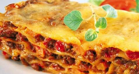 Enkel lasagne oppskrift.