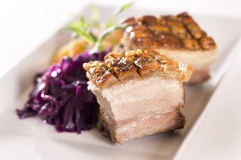 Christmas pork ribs (juleribbe).