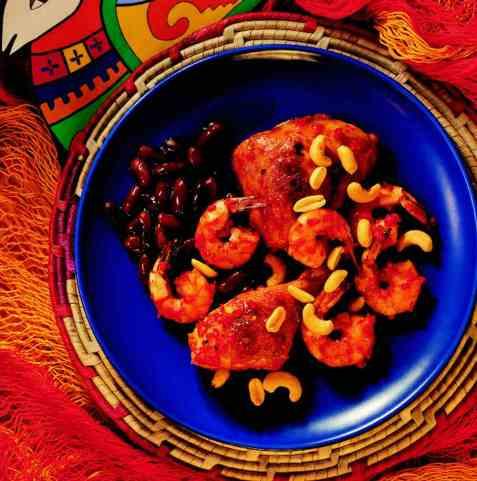 Chilimarinert kylling oppskrift.