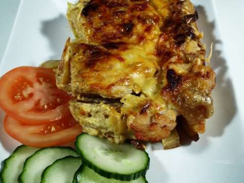 Grillet kylling med eksotiske poteter oppskrift.
