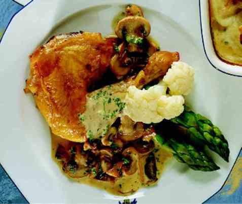 Kylling i fløtesaus 2 oppskrift.