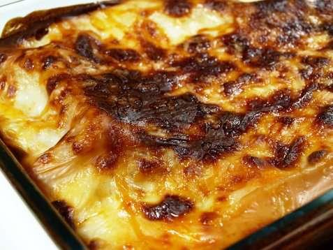 Kylling-lasagne oppskrift.