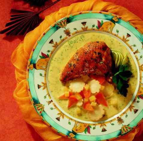 Lime-marinert kylling oppskrift.