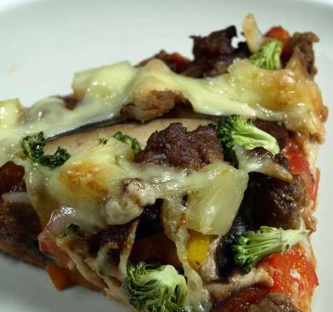 Pizza fra John oppskrift.