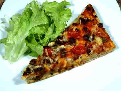 Pizza med kjøttdeig 2 oppskrift.