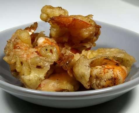 Beignetdeig til frityrstekte reker oppskrift.