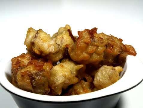 Dypstekt fisk dyppet i beignetdeig oppskrift.