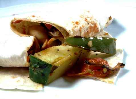 Grønnsaksfajitas - Fajitas dechiles oppskrift.