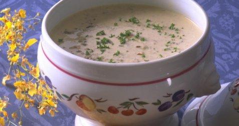 Vårlig suppe oppskrift.