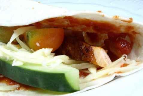 Laks i Tacoskjell oppskrift.