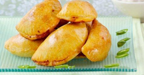 Lam- og chorizo empanadillas oppskrift.