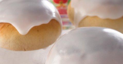 Bilde av Fastelavensboller med innbakt fyll.