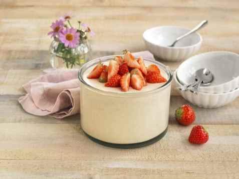 Jordbærfromasj 2 oppskrift.