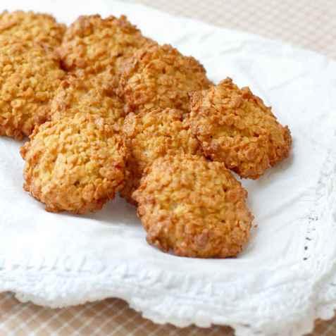 Havremakroner med sukrin oppskrift.