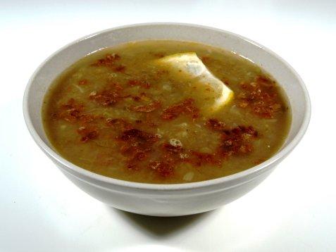 Egyptisk linsesuppe oppskrift.