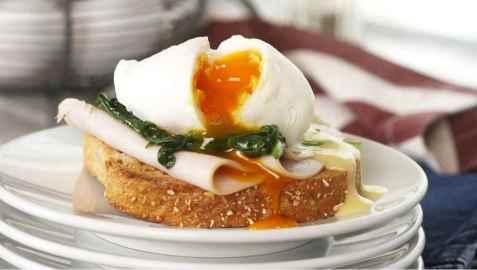 Egg Benedict oppskrift.