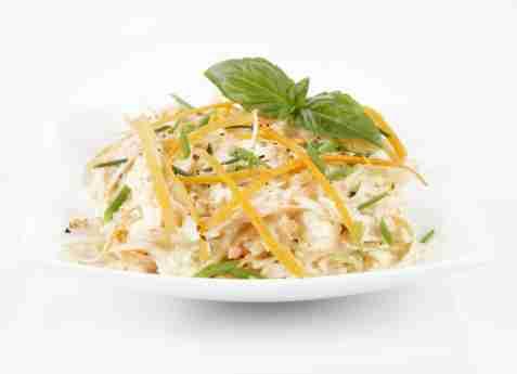 Råkost salat oppskrift.