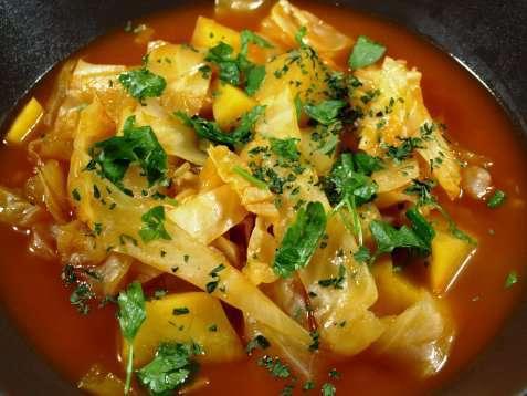 Nesten indisk suppe oppskrift.