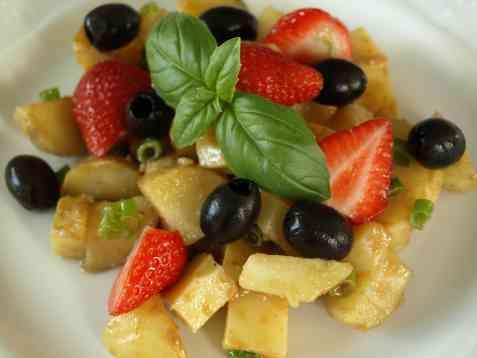 Dagens oppskrift er Pikant potetsalat.