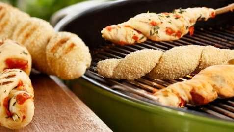 Pinnebrød med chorizo oppskrift.
