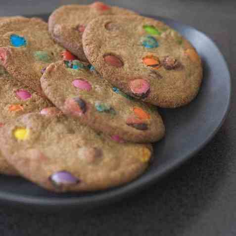 Røvercookies oppskrift.