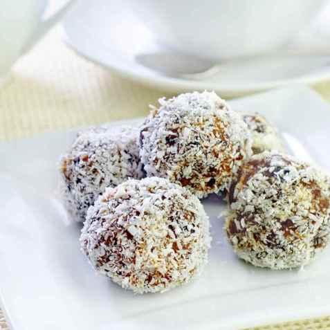 Sjokoladekuler med sukrin oppskrift.