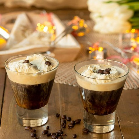 Irish coffee 2 oppskrift.
