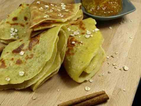 Prøv også Grove pannekaker med havregryn.