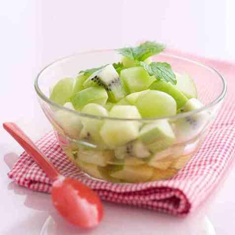 Fruktsalat 6 oppskrift.