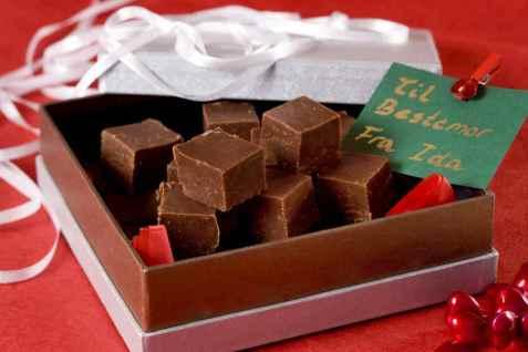 Engelsk sjokoladefudge oppskrift.